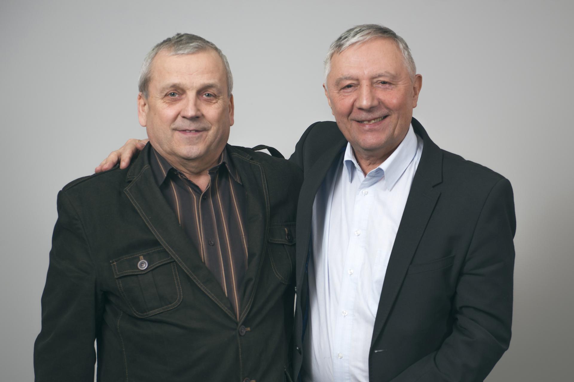 Jerzy Gruszka und Jan Szafron
